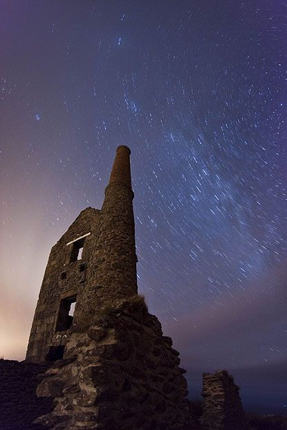 An engine house in Cornwall.