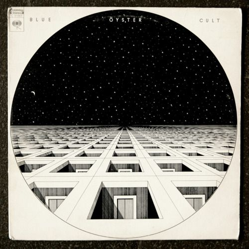 "BLUE OYSTER CULT ""BLUE OYSTER CULT"" (1972) Cover by Bill Gawlik"