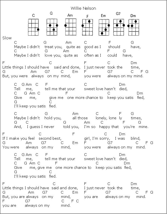 you stand alone chords pdf