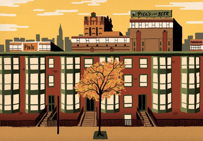 Brooklyn, New York - Sam Brewster - Illustrator