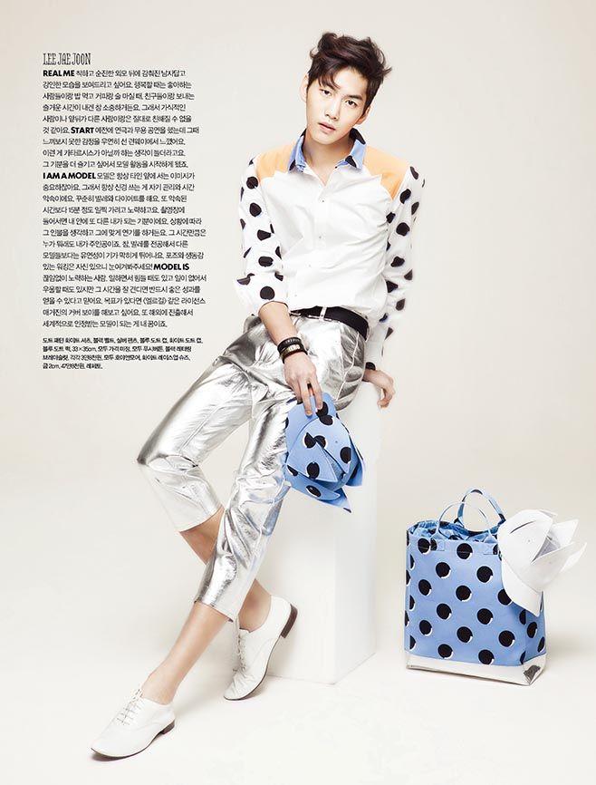 Lee Jae Joon for Elle Girl Korea