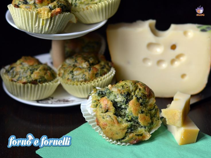 Muffin+ricotta+spinaci