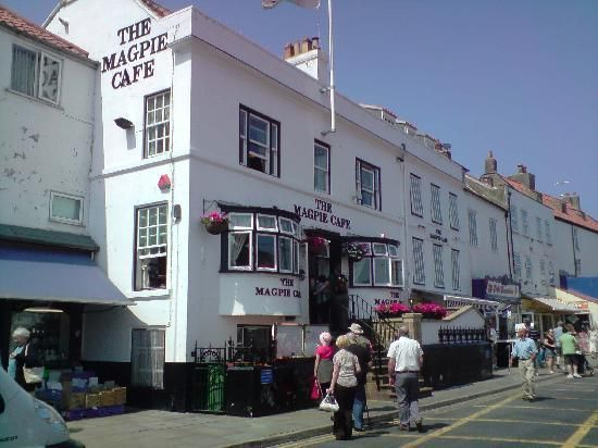 Magpie Cafe, Whitby, Yorkshire - built 1750 - became a cafe in approximately 1939 - great fish and chips