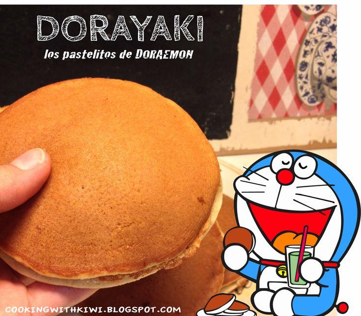 COOKING WITH KIWI: DORAYAKI (LOS PASTELITOS DE DORAEMON)