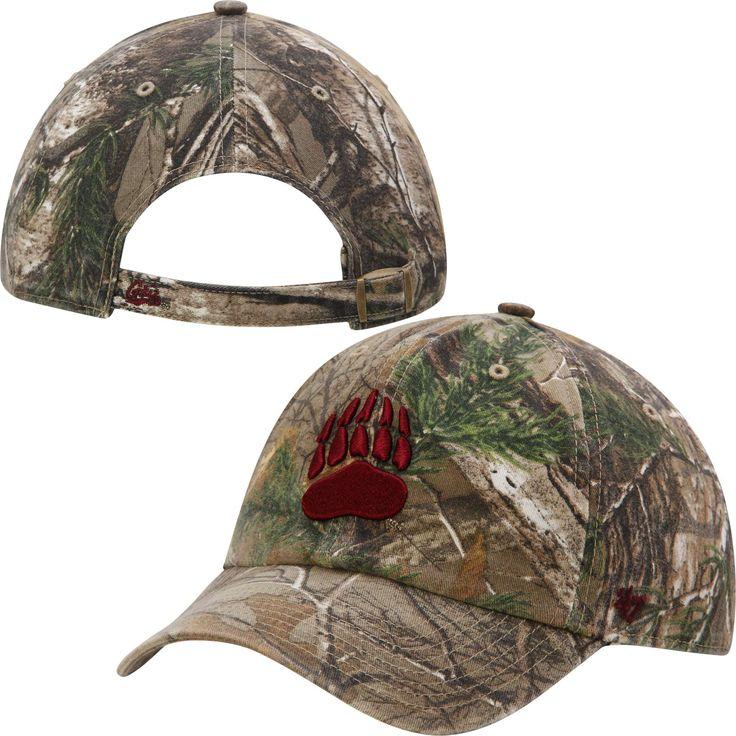 '47 Brand Montana Grizzlies Realtree Camo Clean Up Adjustable Hat