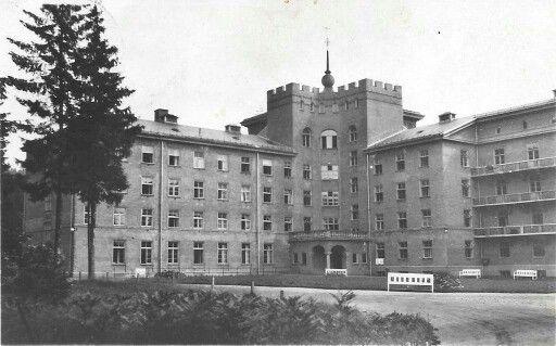Glitre sanatorium, Hakadal
