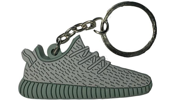 """Adidas Grey Moonrock """"Yeezy"""" 350 Boost 2D Flat Keychain"""