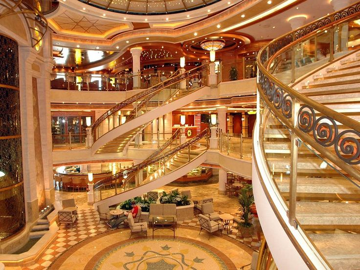 One of my favorite parts of the ship!  Especially at Christmas time!