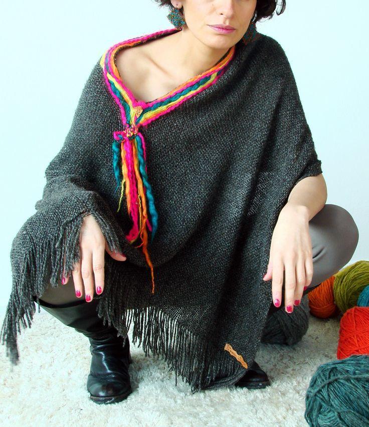 woven poncho - Buscar con Google