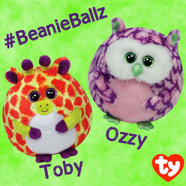 Our newest Beanie Ballz pals Toby and Ozzy!