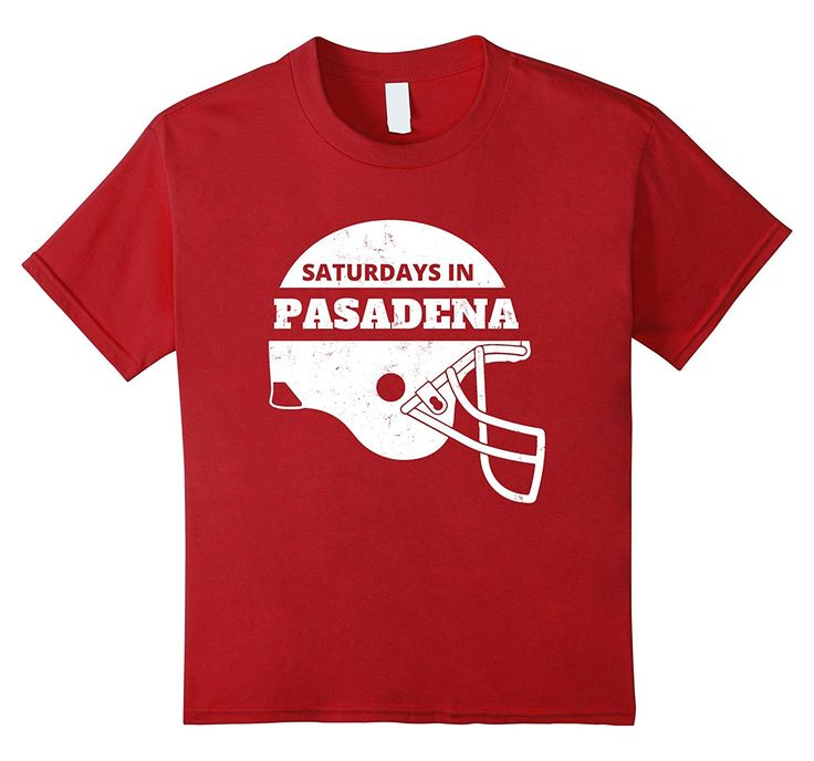 Amazon.com: SATURDAYS IN PASADENA COLLEGE FOOTBALL- VINTAGE T-SHIRT: Clothing