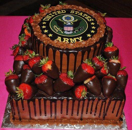 army weddin cakes for groom | Groom's Cakes
