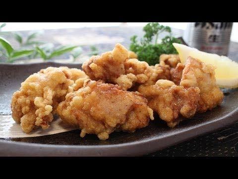 """▶ ジューシーな「鶏のから揚げ」の作り方 - How to make """"japanese fried chicken"""". - YouTube Chicken karaage"""