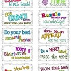 These sweet treat candy themed testing notes are great for pairing with candies to motivate your students the morning of a big test! Just print and...