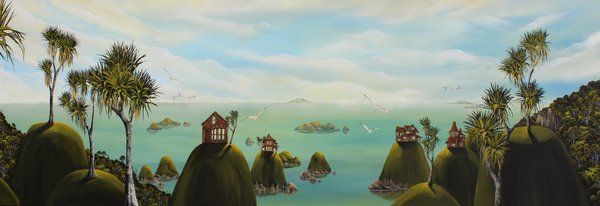 Artfind.co.nz - Artwork - Of Cabbages And Kings series V by StaceyO'Neill