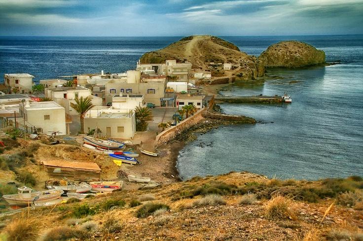 La Isleta del Moro, Almeria, Spain