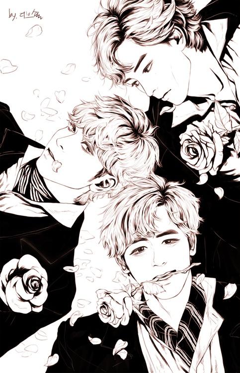 2PM FA! Electronic art, Chibi, Fan art