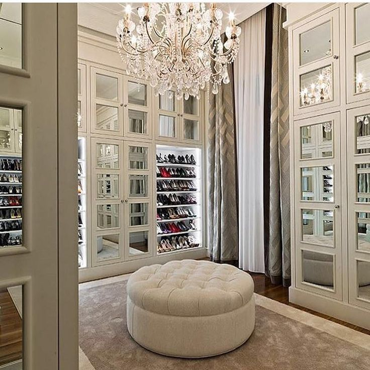 """""""Dream! Tag your fashionista friend! Tagged by @loveluxuryinteriors credit: ? #dreamcloset"""""""