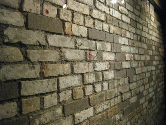 St. Valentine's Day Massacre Wall