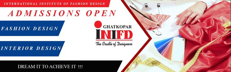 Admissions Open for Bachelors, Masters & Professional Courses in Fashion & Interior Designing !!! ENROLL TODAY !!! Call Today on: 8433777788 Visit: www.inifdghatkopar.com #MyINIFD, #INIFDRocks, #INIFDGhatkopar, #AdmissionsOpen, #InteriorDesign, #FashionDesign #LearningwithFun, #DesignCoursesinMumbai !!!