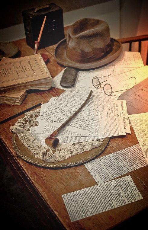 Indiana Jones desk, Tokyo Disney