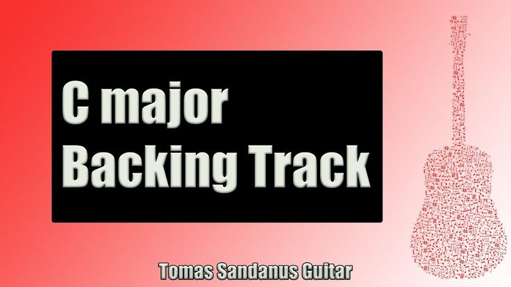 Backing Track in C Major Emotional Pop Rock with Chords and C Major Pentatonic Scale