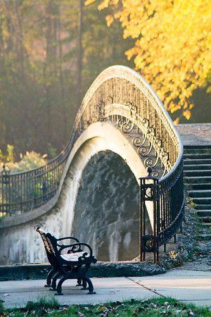 RosamariaGFrangini* | Architecture | Details & Elements | AllAboutMe |   Elizabeth Park Southern Footbridge - Wayne County, Michigan