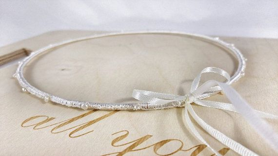 Silk with Pearls  Wedding Crowns, Στέφανα Γάμου, Boho Style, Vintage Collection, Greek Stefana, Rustic style Wedding Crowns
