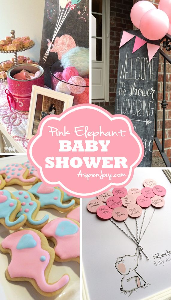 Adorable diy ideas for a pink elephant baby shower! Love the touch of blue in it as well. I'm loving all the cute elephants!!! She even includes the printables for free download. Definitely will be using this!