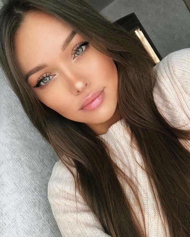 Mädchen Grüne Augen Braune Haare | Augen DE