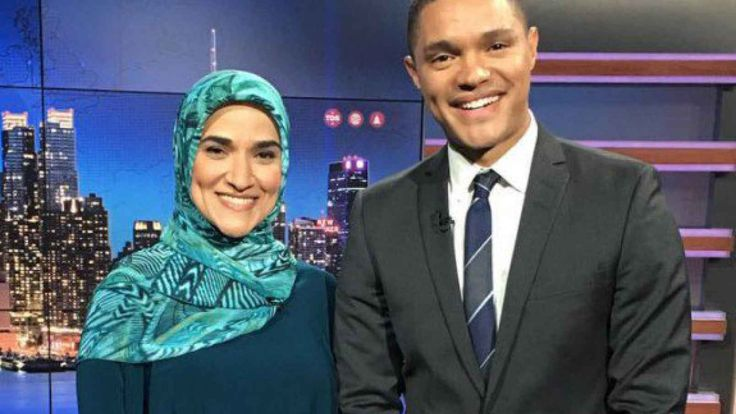 Dalia Mogahed: Mainstreaming Islamic Oppression - Sharia advocate goes on the Daily Show to explain why Islamic oppression of women is, hey, really cool.