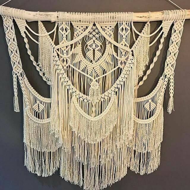 52 best makrame images on pinterest jewelry macrame for Diy macrame baby swing
