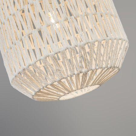 Lampa wisząca Lina Hive 40 biała