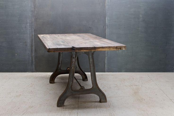 Delightful Seins Vintage Industrial Lathe Table : 20th Century Vintage Industrial :  Modern Fifty | Tables | Pinterest | Lathe, Vintage Industrial And Table Legs