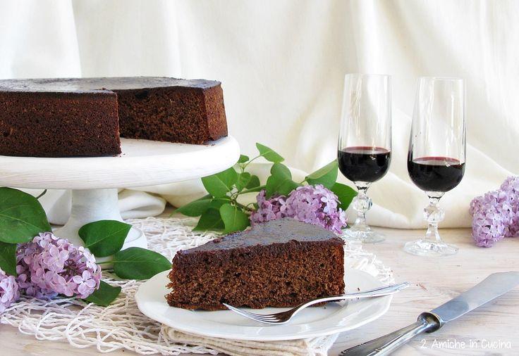 Torta al cioccolato, amarene e Recioto | 2 Amiche in Cucina