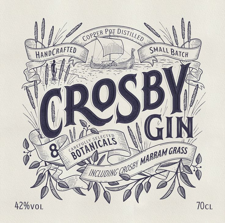 Crosby Gin on Packaging of the World - Creative Package Design Gallery