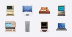 Old Apple devices | 1 | Iconfinder https://www.iconfinder.com/iconsets/old_macs