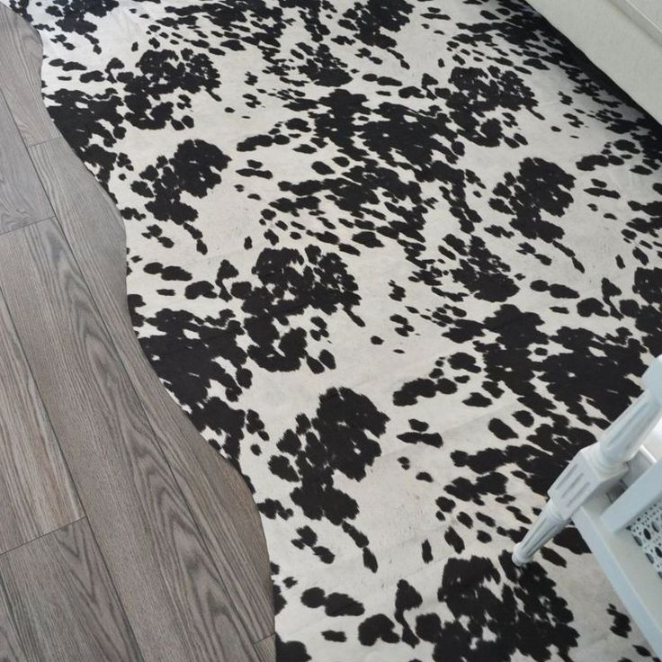 A Faux Cowhide Rug for Less Than $50