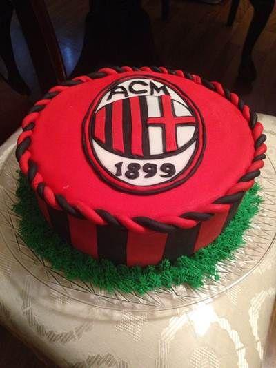 AC Milan Birthday Cake Ideas
