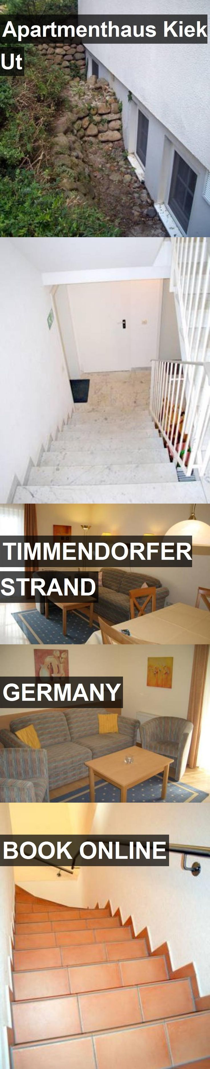 Apartmenthaus Kiek Ut in Timmendorfer Strand, Germany. For more information, photos, reviews and best prices please follow the link. #Germany #TimmendorferStrand #travel #vacation #apartment