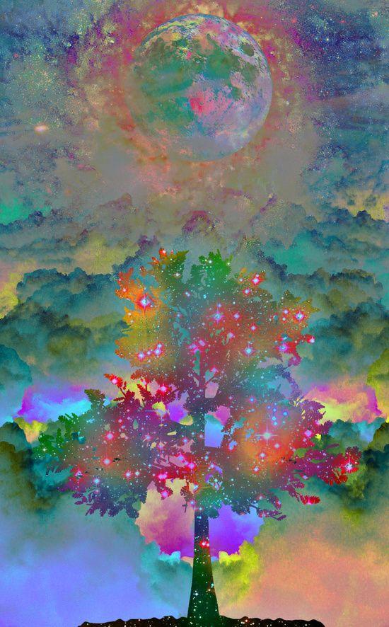 Tree of Life Art Print by Starstuff | Society6