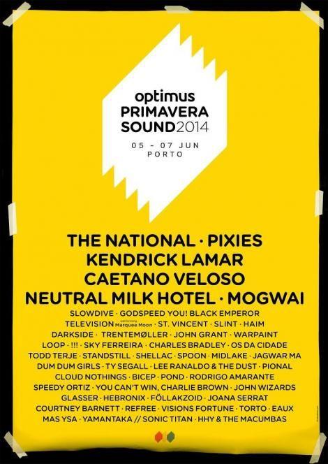 Optimus Primavera Sound 2014 Festival #Porto | #Portugal