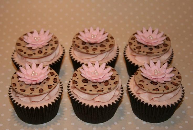cupcakes pinterest leopards - photo #9