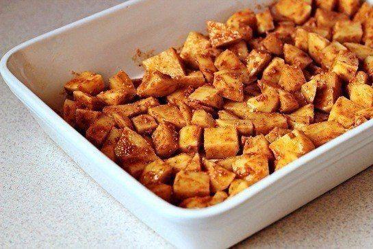 Печеный картофель с пармезаном   #лучшиерецепты #еда #кулинария