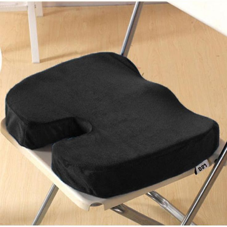 Office-Memory-Foam-Seat-Cushion-Chair-Coccyx-Back-Pain-Relief-Orthopedic-Pillow