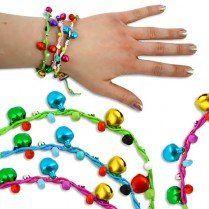 1 Schutzengel-Armband, mit Glöckchen und süßem Klingeln, versch. Farben möglich, Schmuck