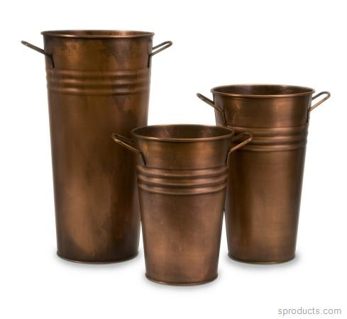 Sproducts — Lighting Business 441183 Tauba Copper Vase Set of 3