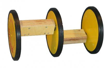 Acrobatic Pedalo 3 wheels in wood for Childs - Kids and Adults12 Inch/203mm