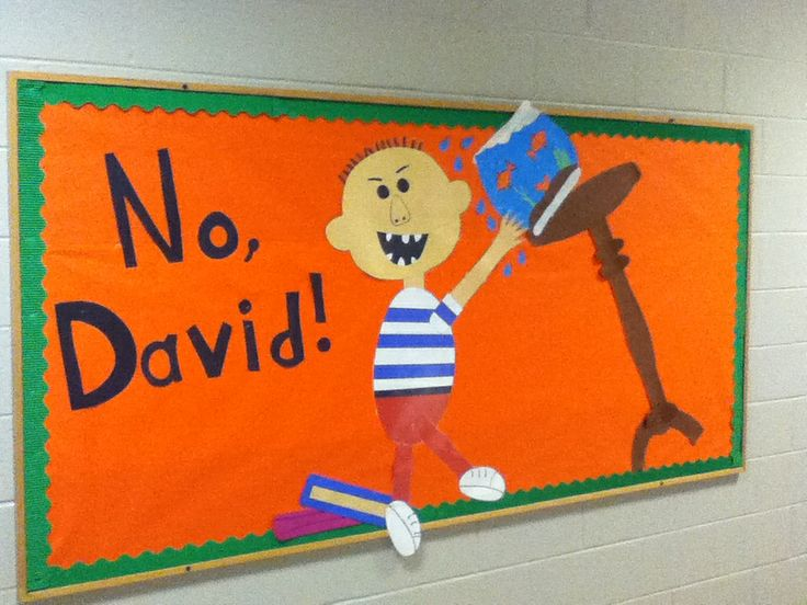 Book Cover Ideas For Preschool : Best images about no david on pinterest shape
