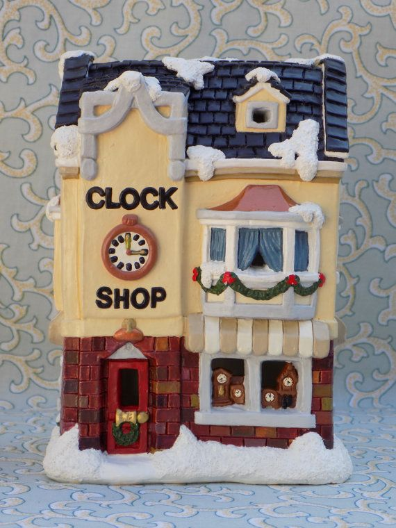 Ideas about christmas village houses on pinterest glitter houses